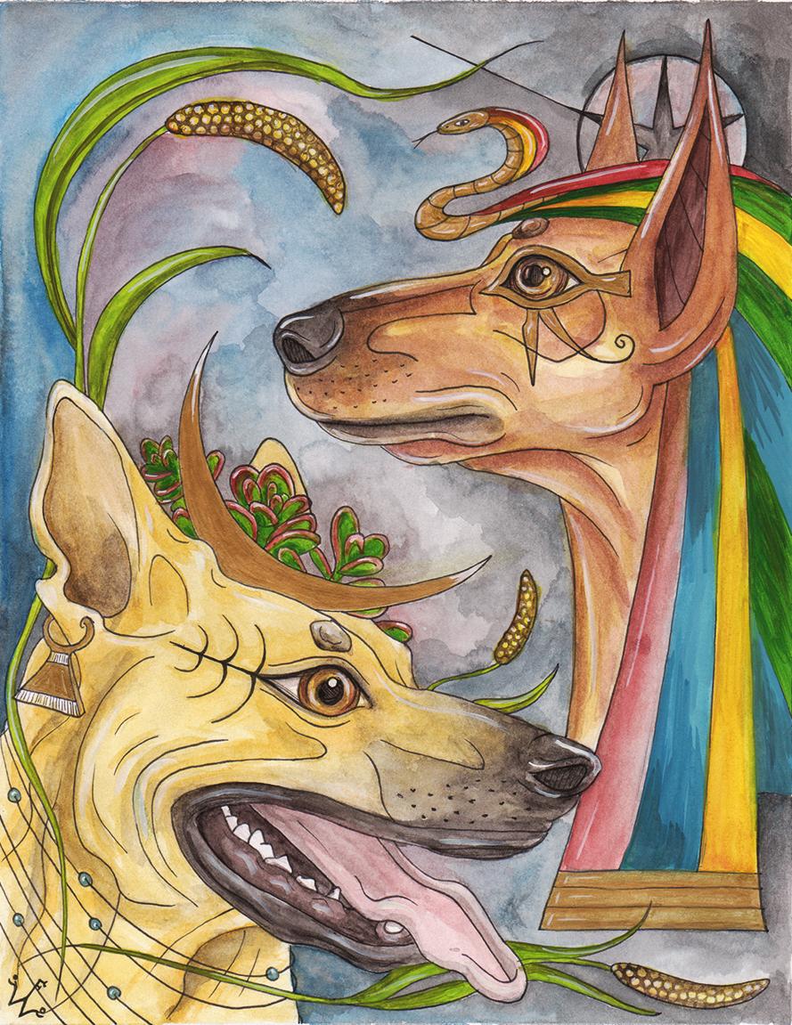 Anubis & Nala
