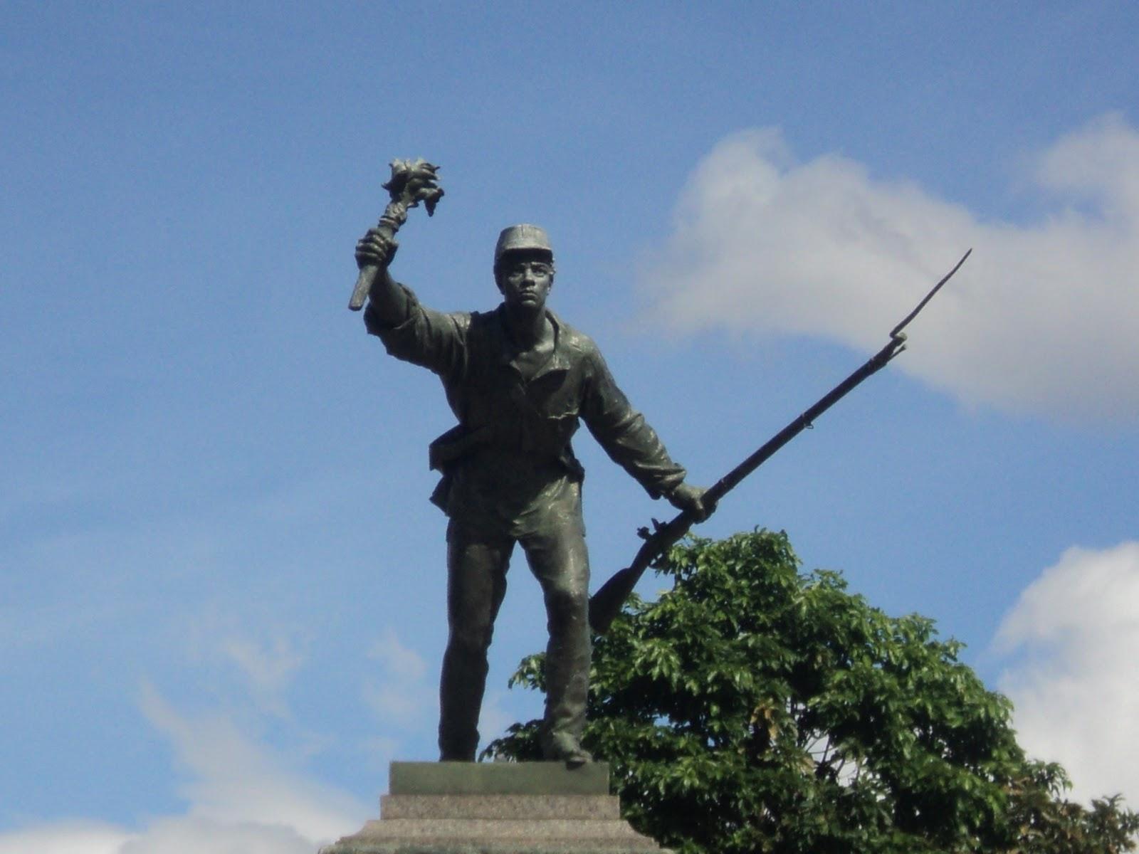 Juan Santamaria Statue in Alajuela