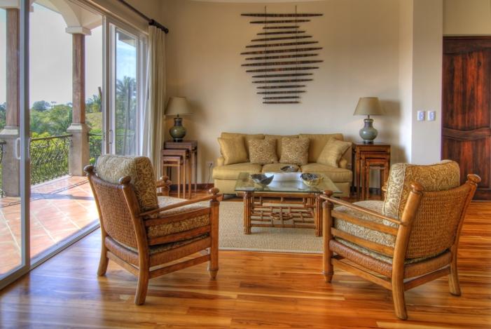 Living Room 3 Bedroom Condos in Costa Rica