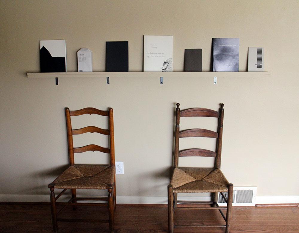Shelf Space 1 B&W Howe1