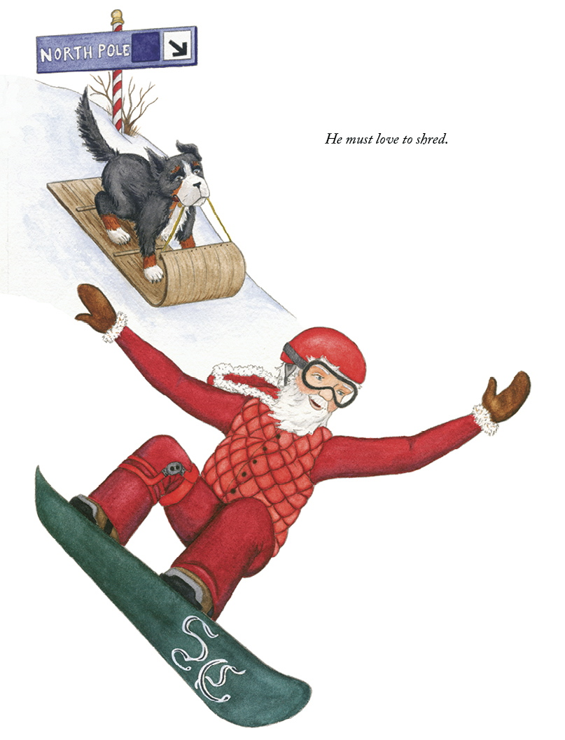 ©THE NIGHT BEFORE CHRISTMAS IN SKI COUNTRY