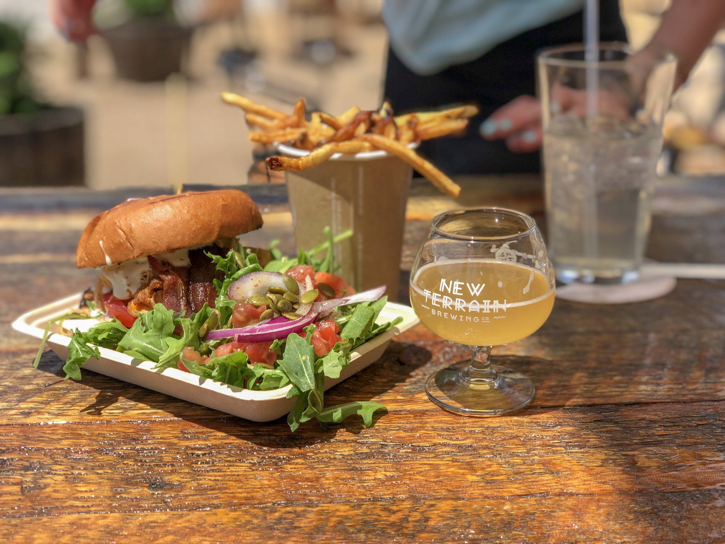 Farm to Truck delicious food truck grub. ©Suzanne Brown