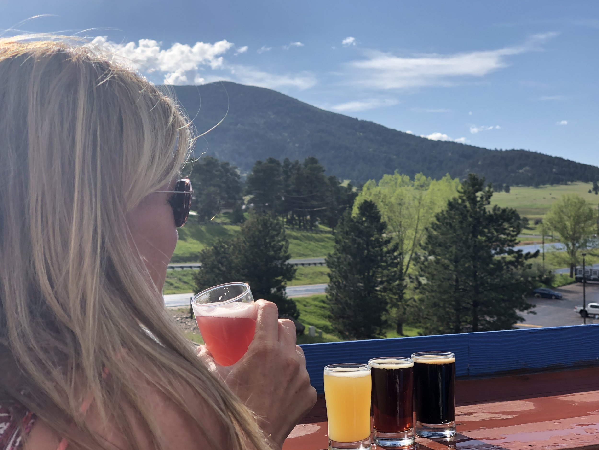 Perfect views for sipping brews. ©Alexa Brown 2019