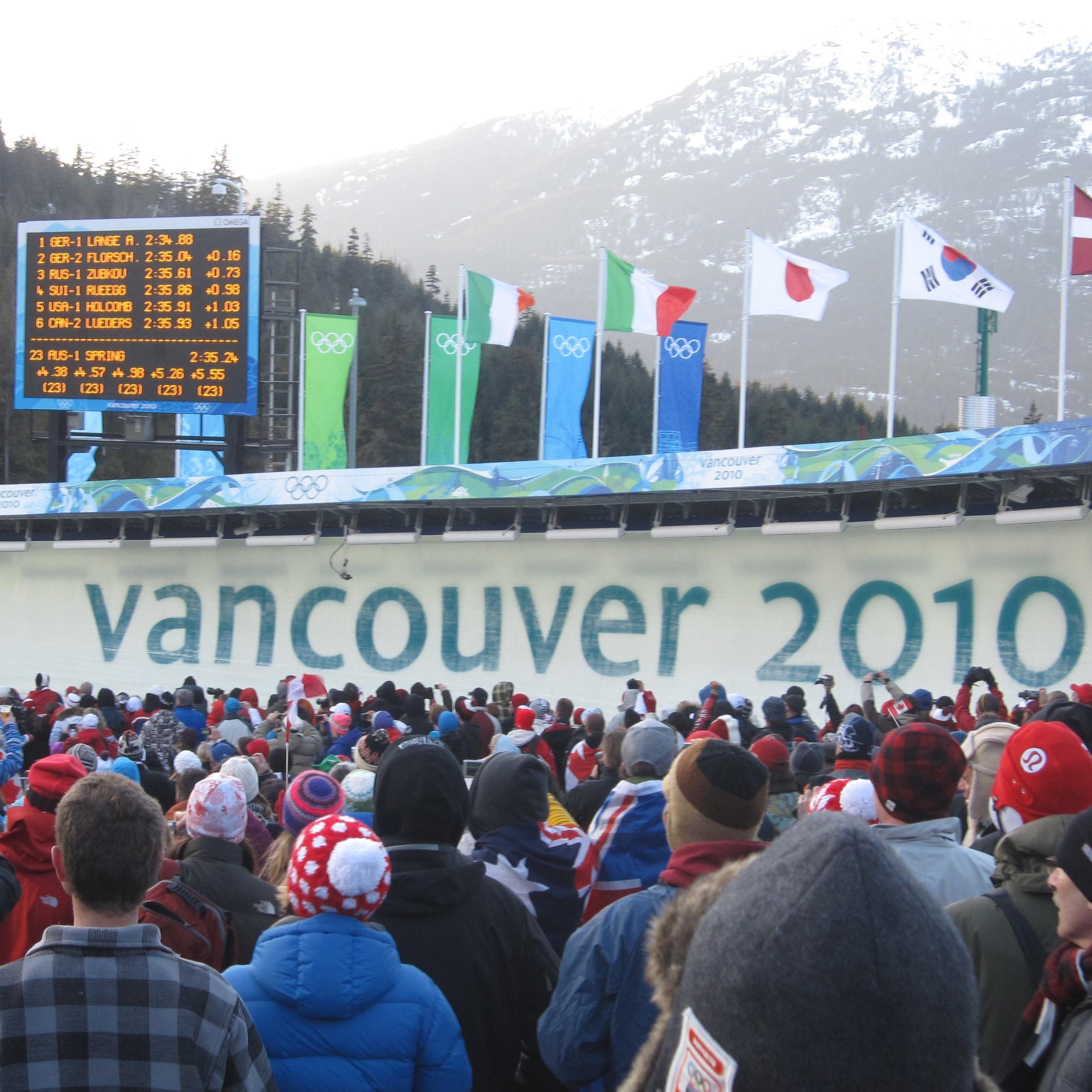 Vancouver 2010 - Whistler Sliding Centre
