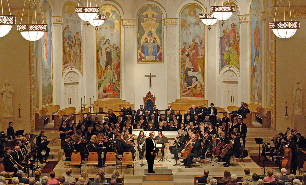 Handel's Messiah at St. Mary's Cathedral, Portland