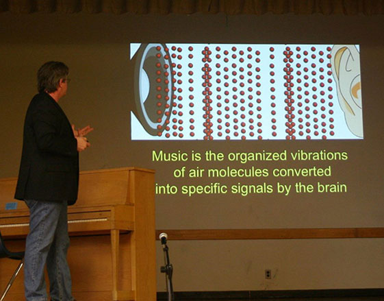 Dr. Larry Sherman presents Every Brain Needs Music