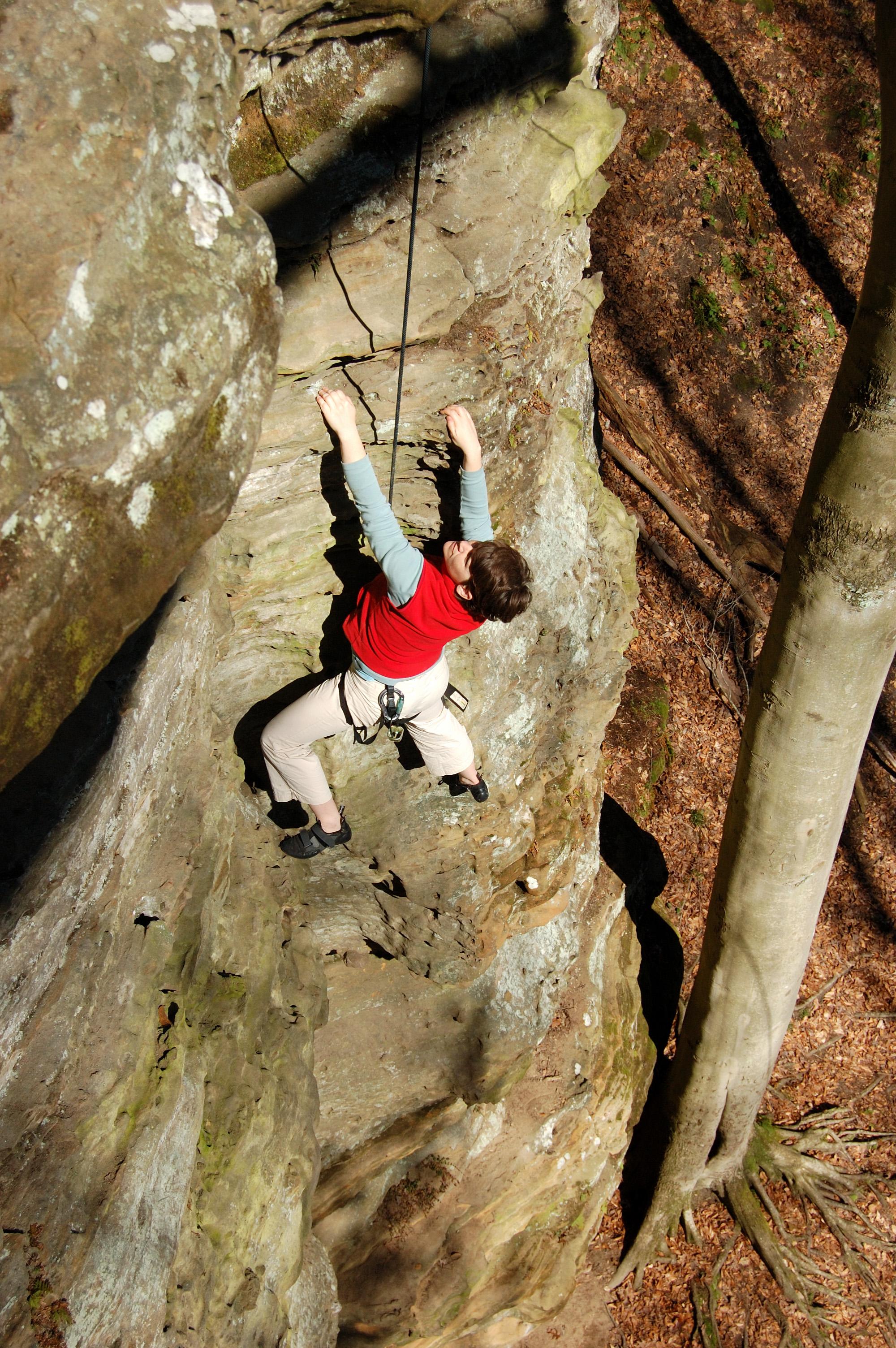 Climbing Amazing Grace