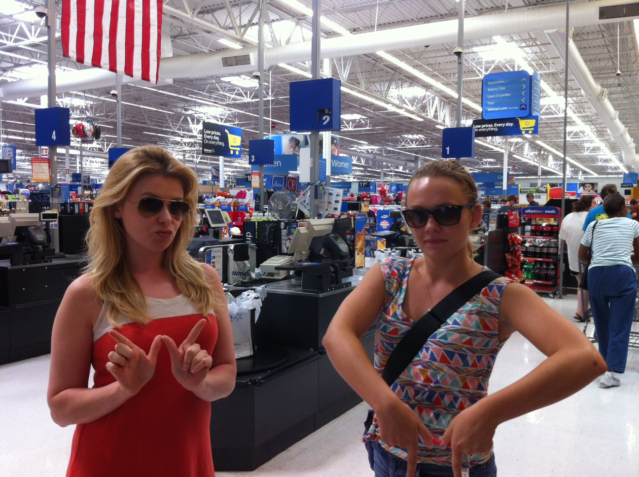 Meet your new Walmart greeters, Greenville, Mississippi!