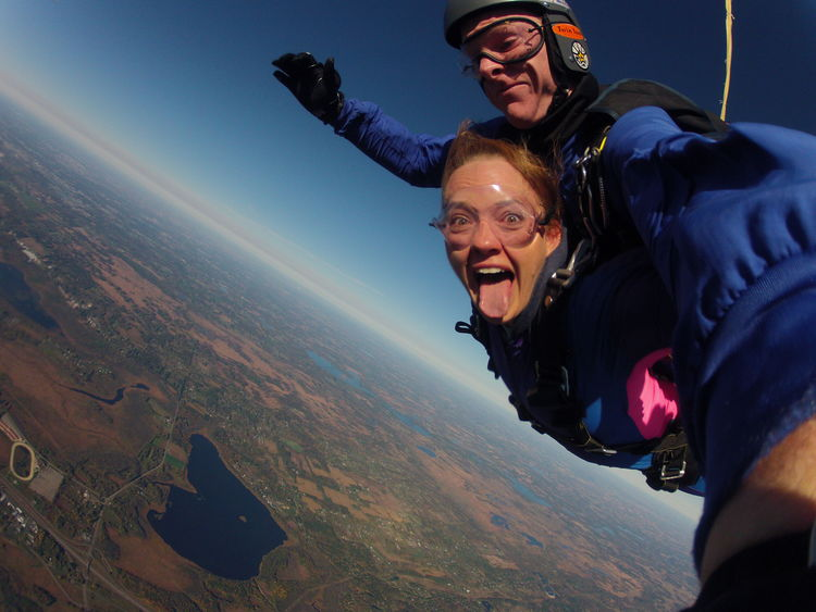 #20. Jump of of a Plane.
