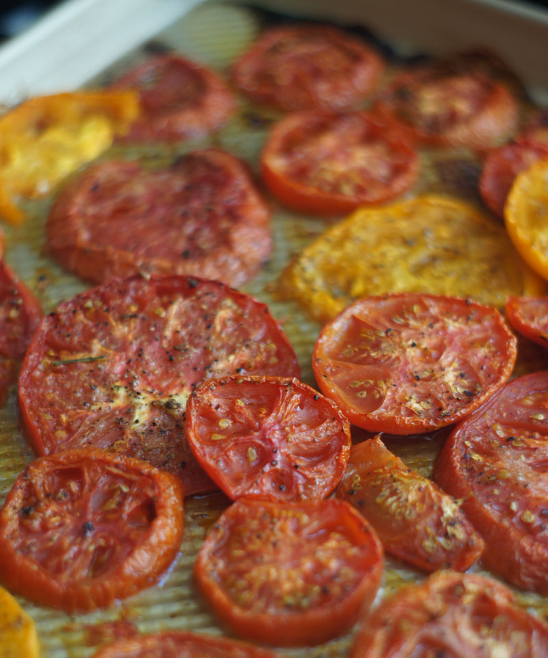 Roasted tomatoes = nature's candy