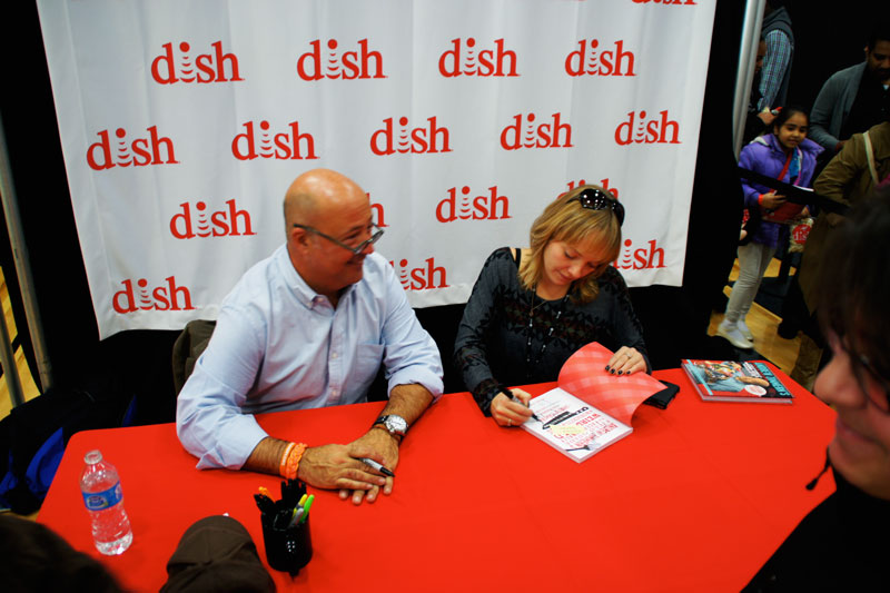 My first-ever book signing!
