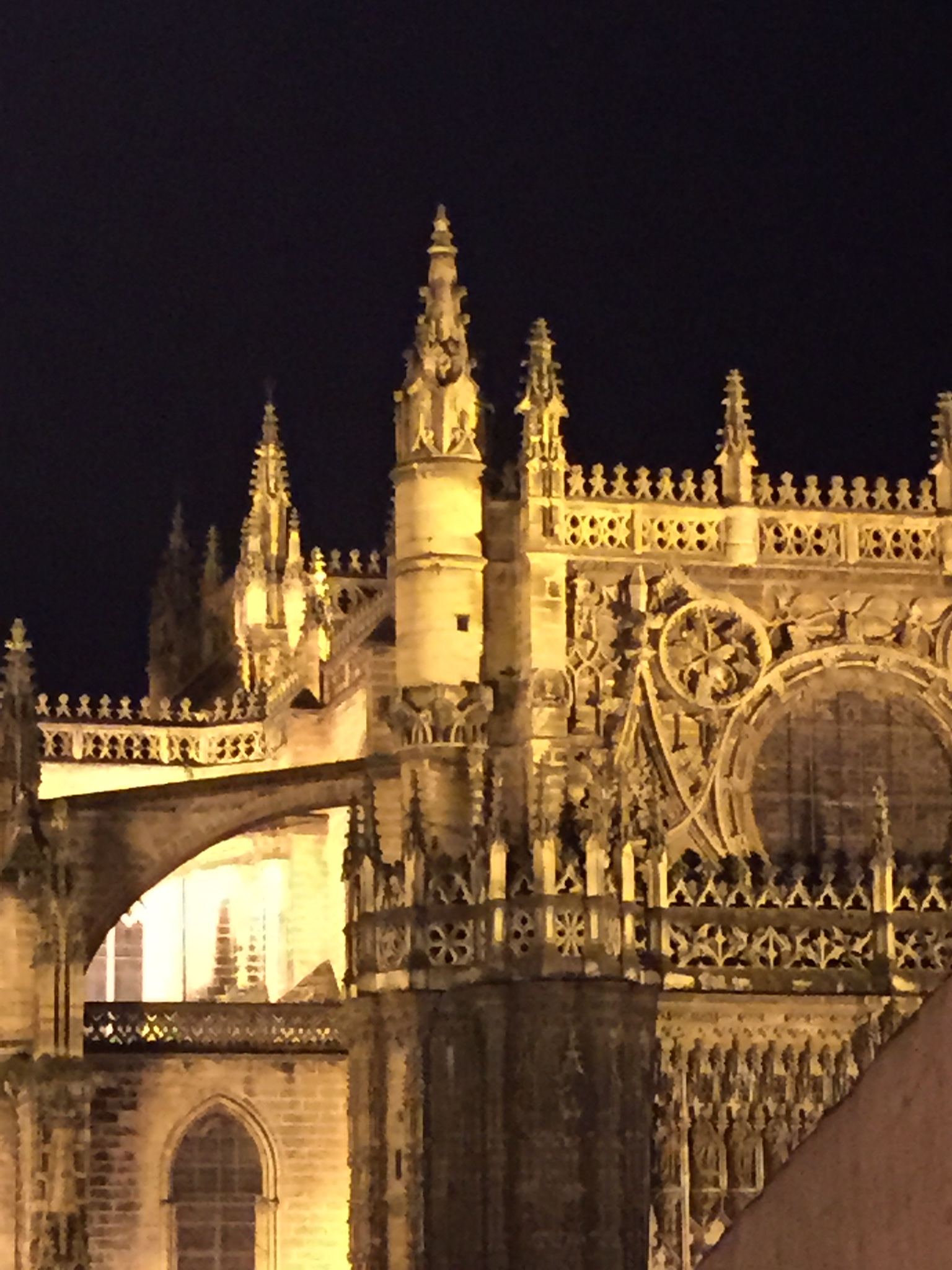The view of La Catedral from our favorite terraza.