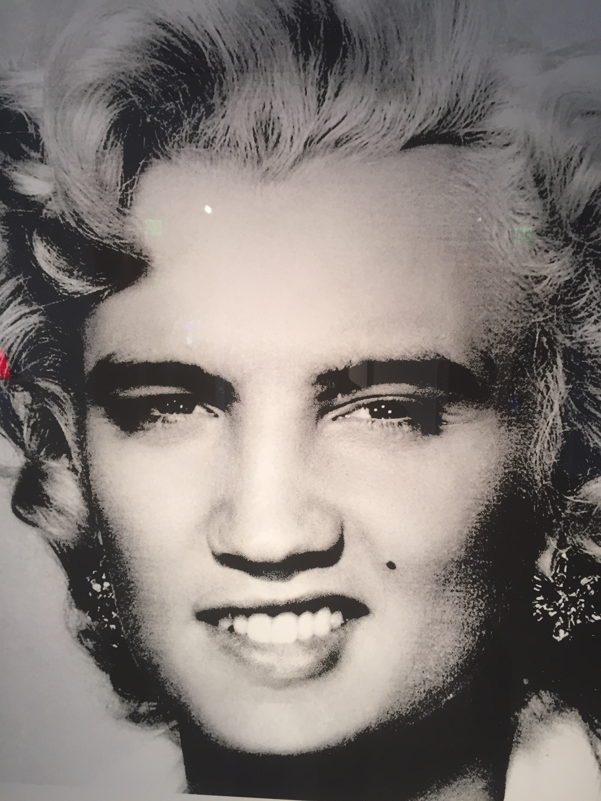 David Scheinmann (British)  Detail of  Elvis / Marilyn  , 2013   Hand painted figurines, swarovski crystals, plexi mirror