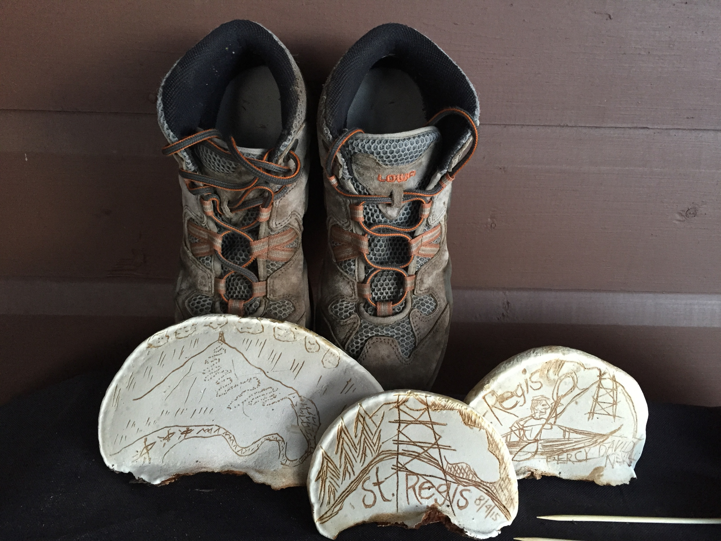 Artifacts of outdoor life in the Adirondacks