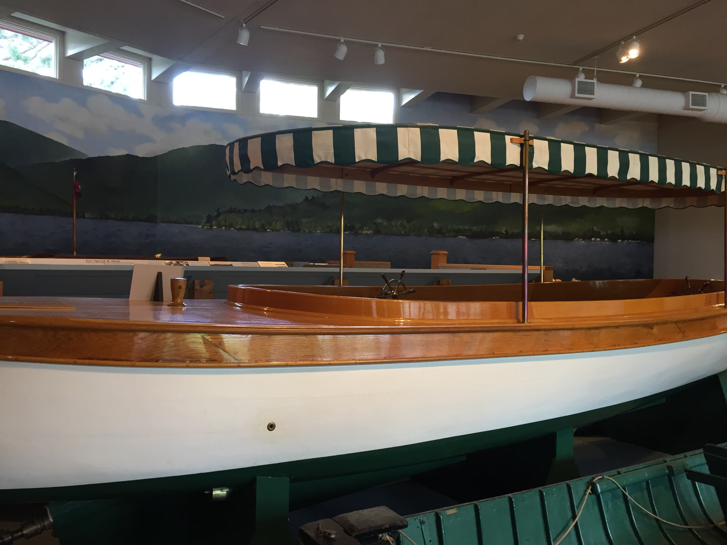 ...and more boats at The Museum of The Adirondacks