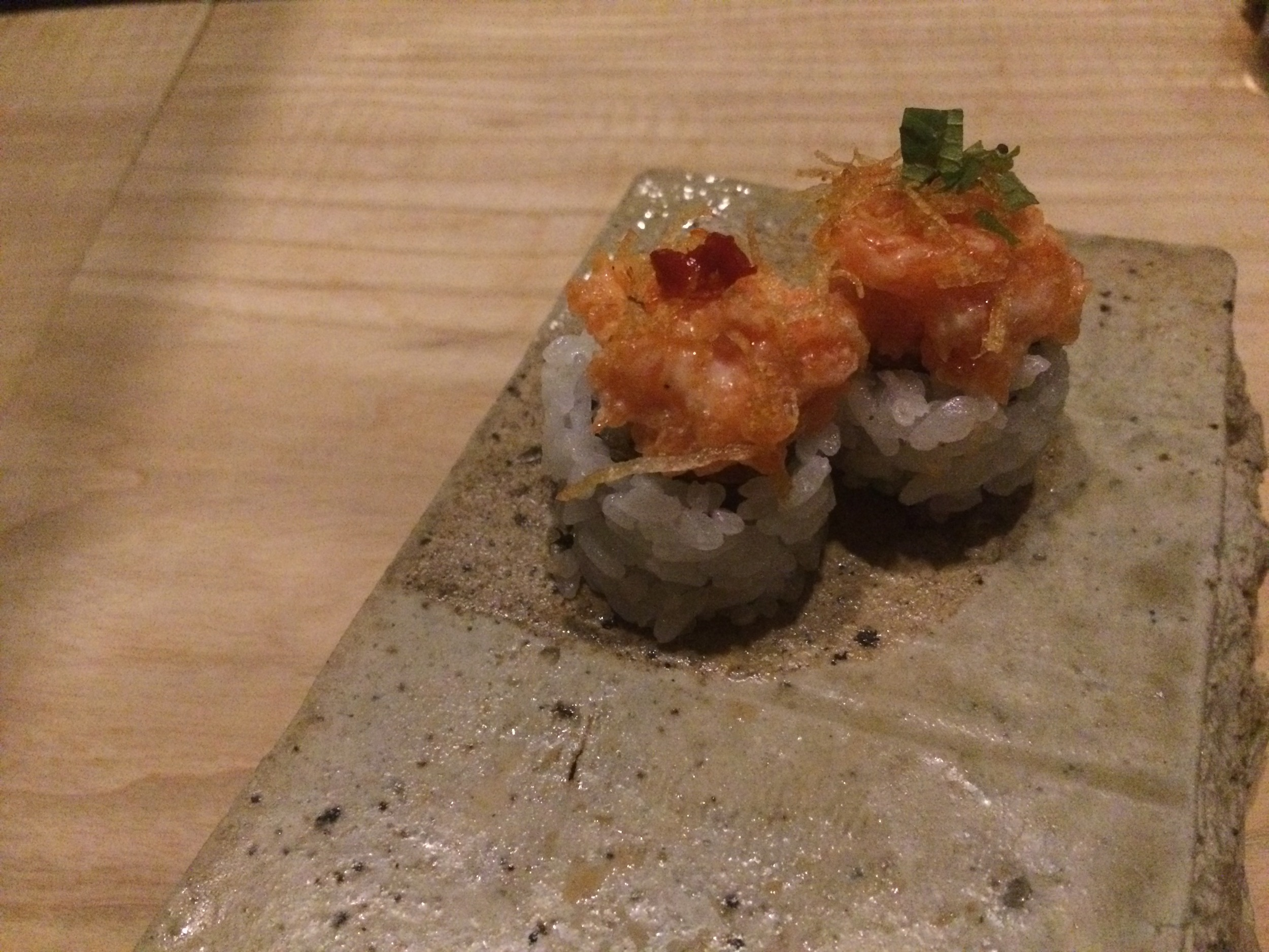 Spicy Trout Roll