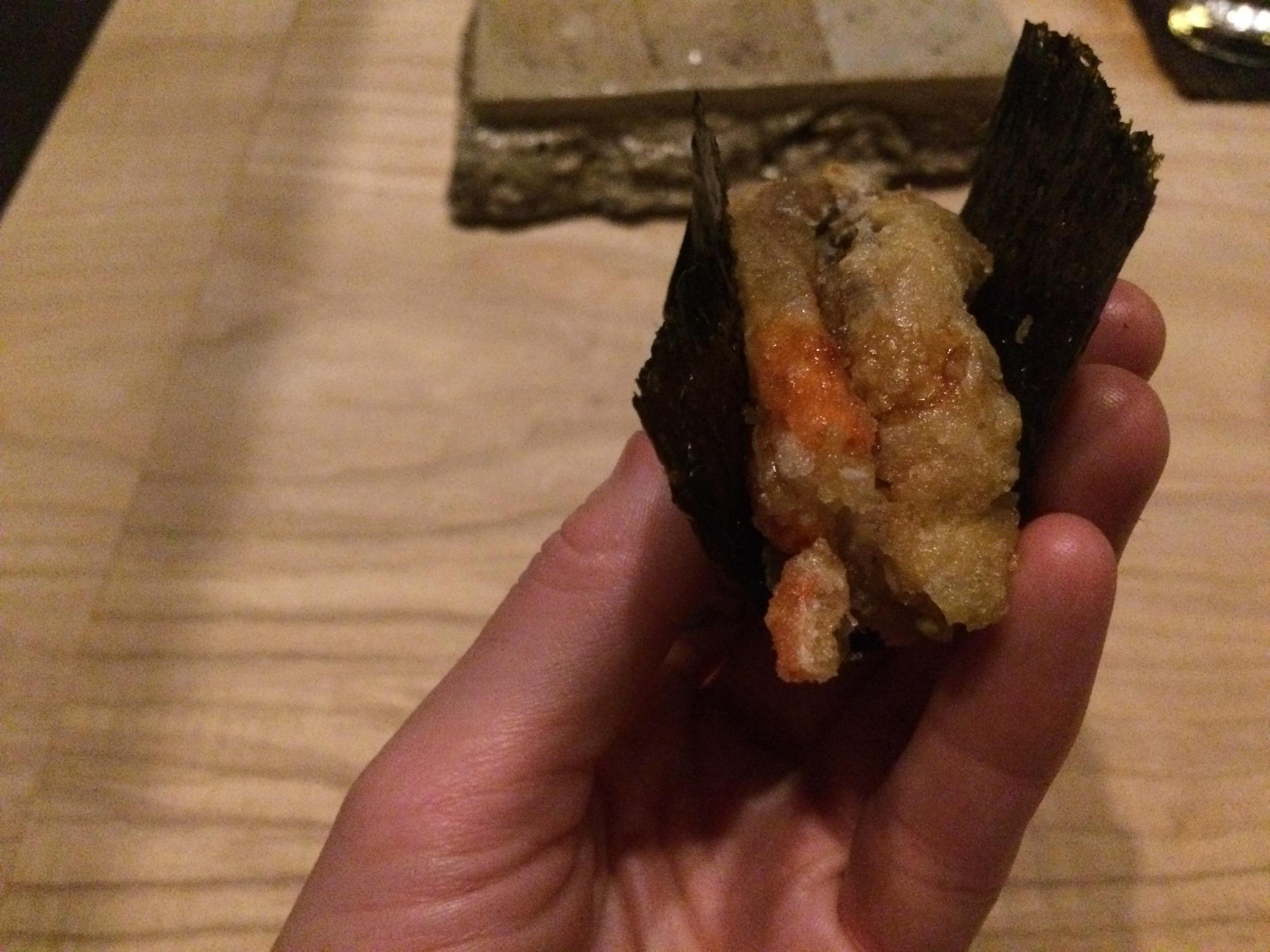 Tempura-fried Soft Shell Crab