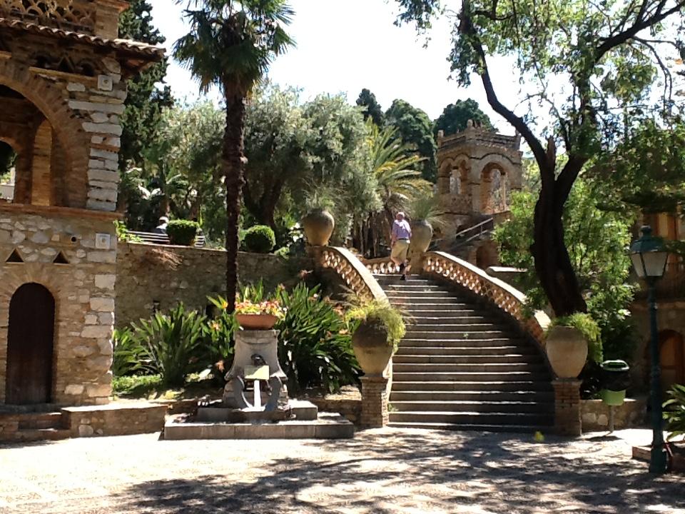 Public Park in Taormina.