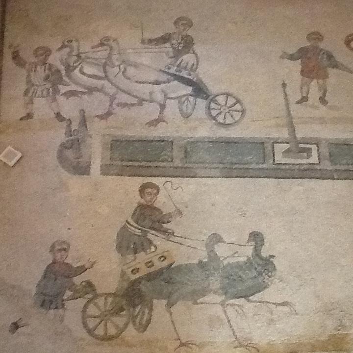 Chariot Races at Villa del Casale.