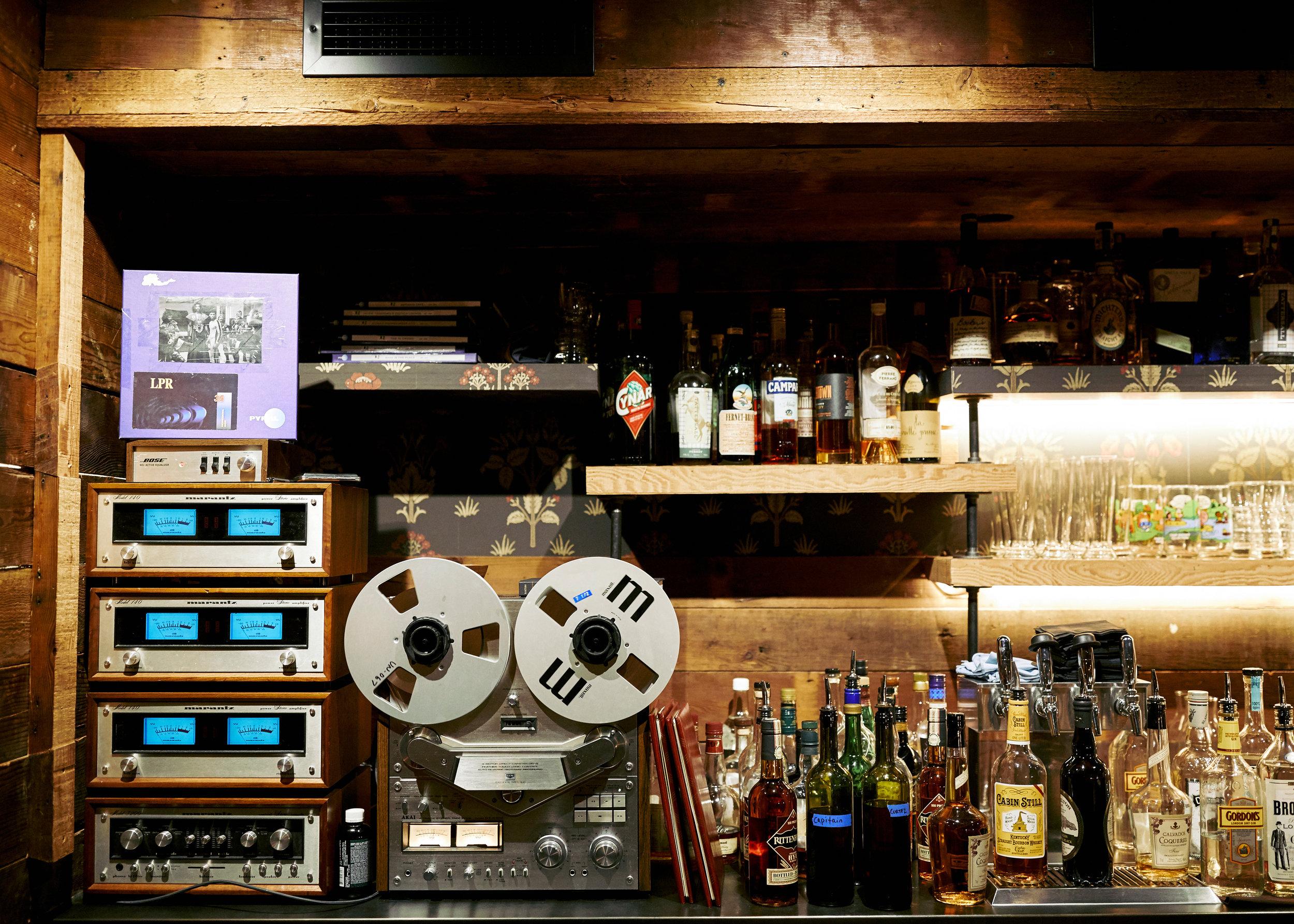 The Back Bar At Young Joni Nick Fay