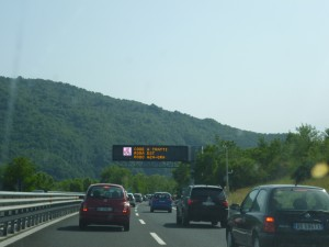 Camino a Roma. VGA.