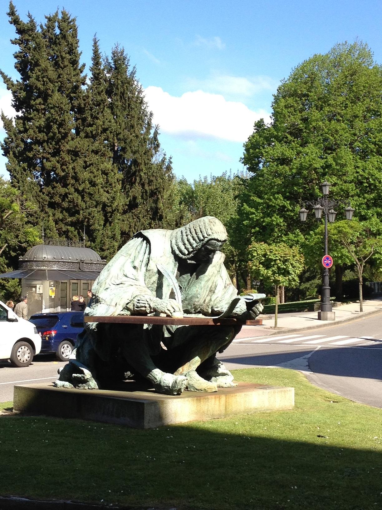 Monumento a Campomanes. Oviedo, Asturias. Foto VGA.