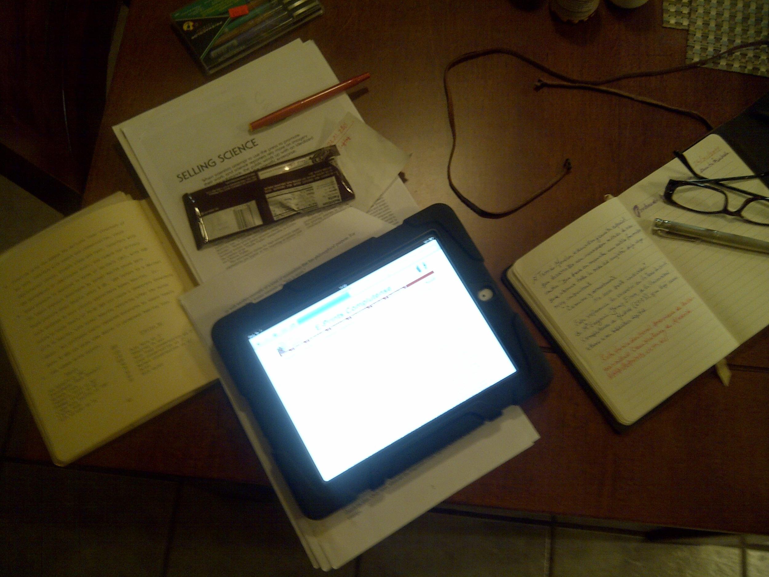 Escribiendo. VGA