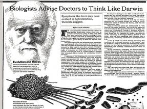 Biologists Advise Doctors to Think Like Darwin