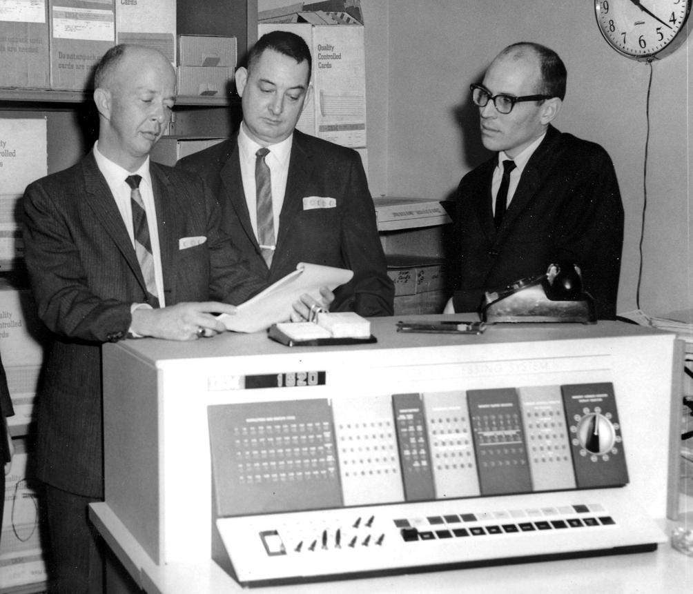 Thomas P. Haynie, MD (on right)
