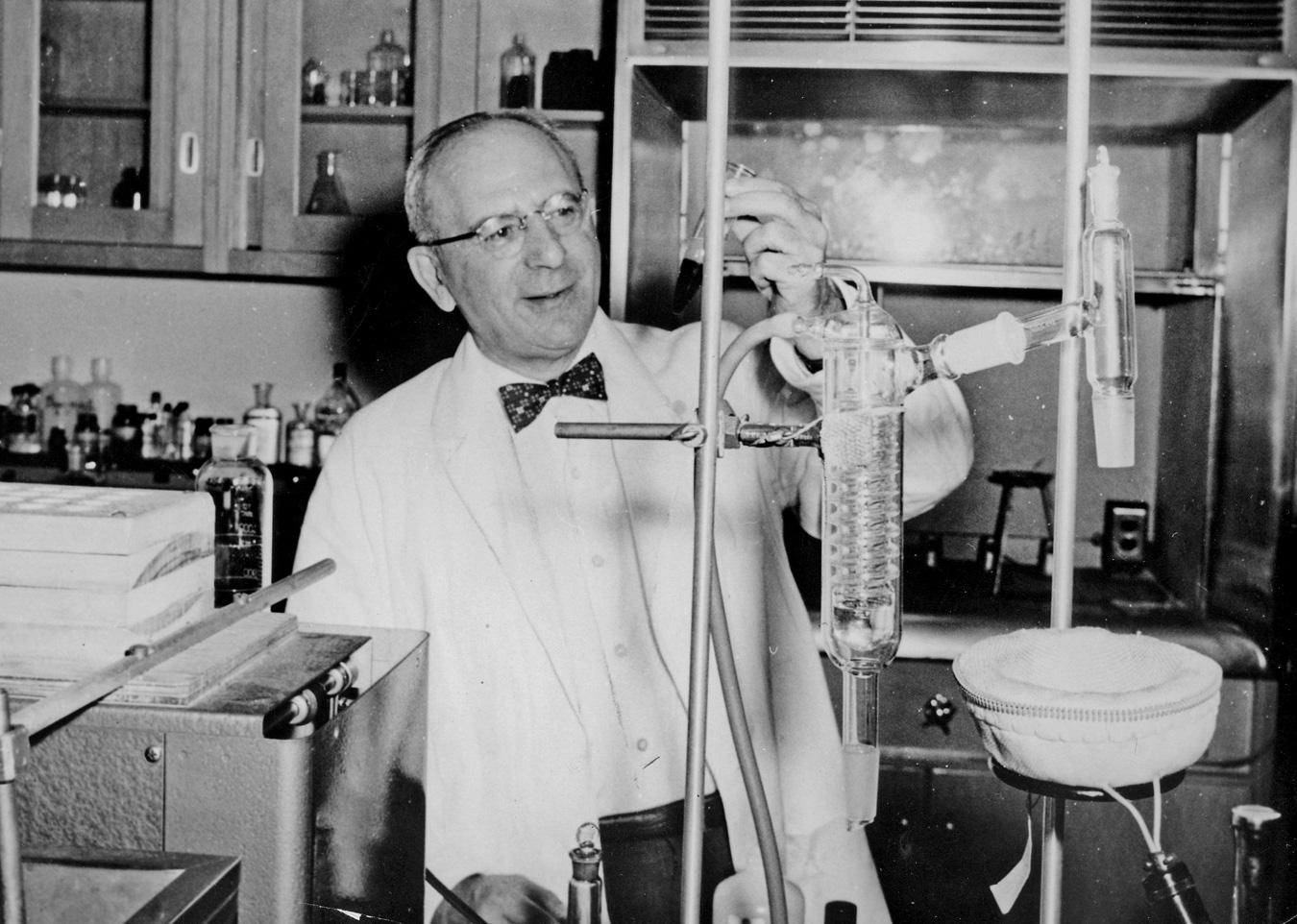 Samuel B. Nadler, MD Fifth president of the Southwestern Chapter (term ending 1961)