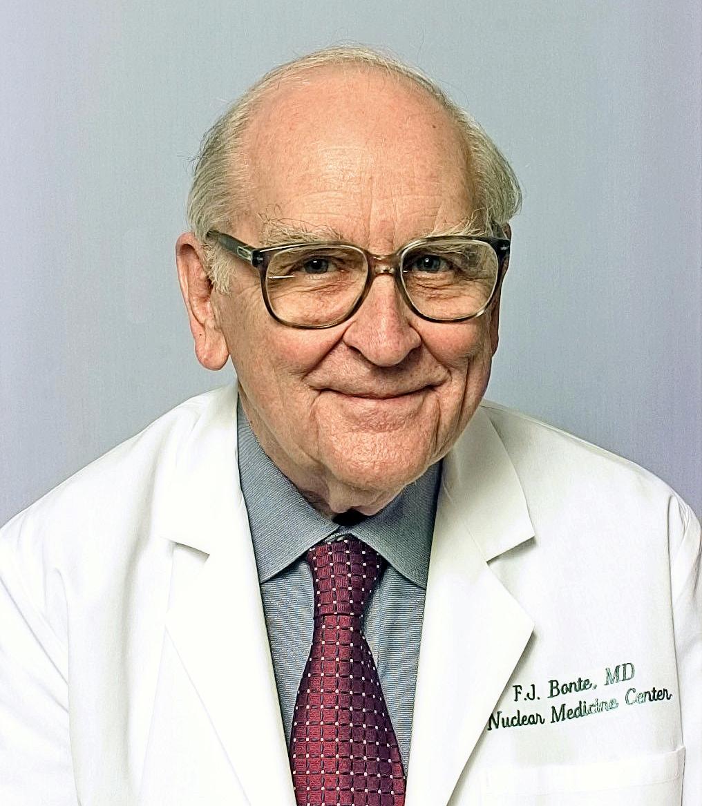 Frederick Bonte, MD Ninth president of the Southwestern Chapter (term ending 1965)