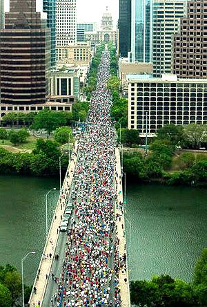 The Austin-Statesman 10K will start Sunday AM near the Hyatt, so book your room soon!