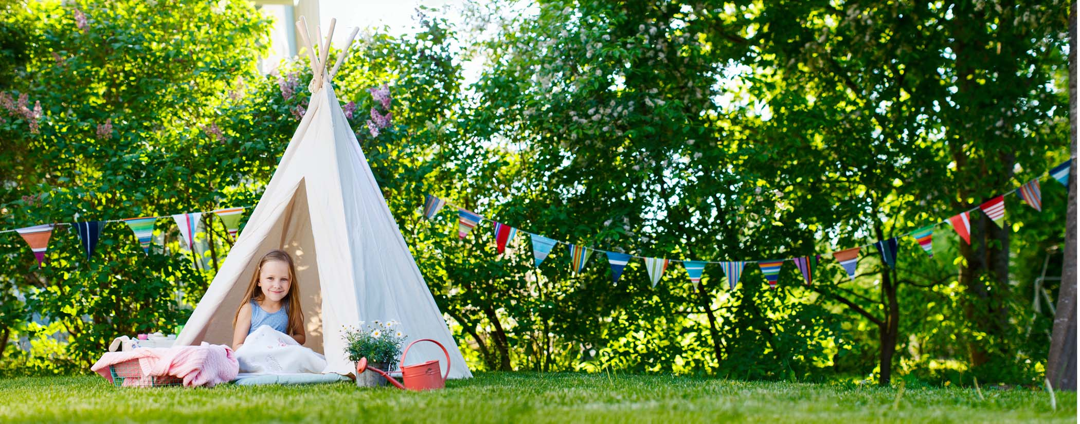 Camping in your backyard can be an unforgettable experience without going too far!