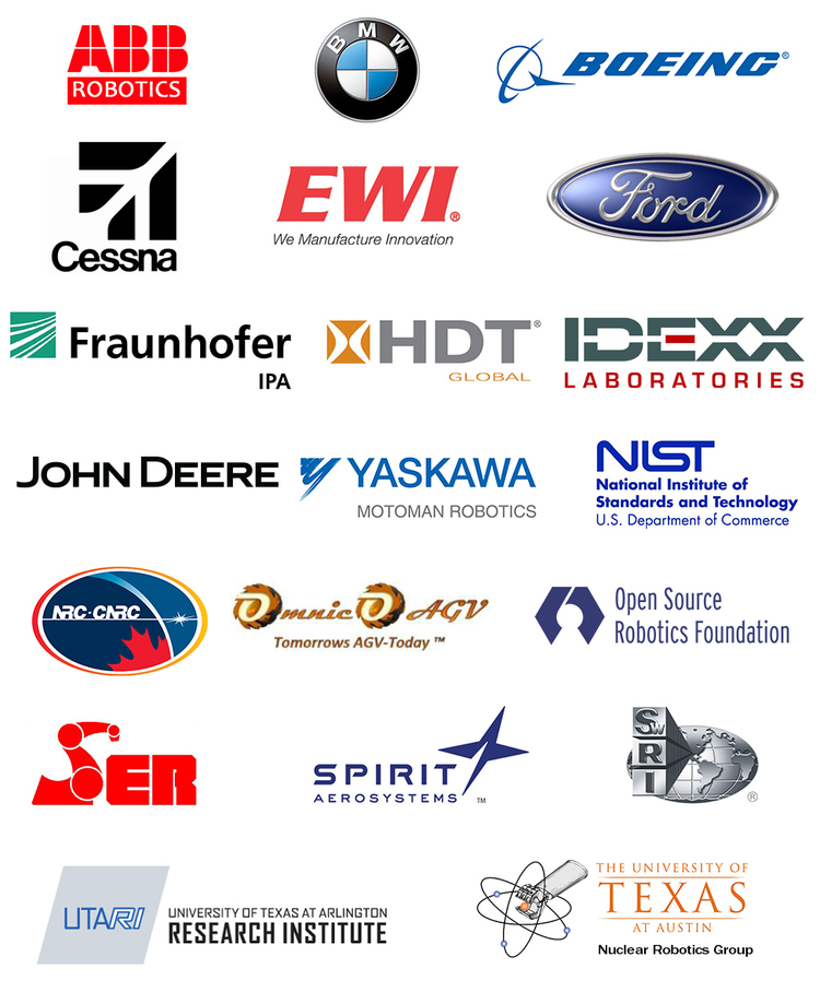 Logos for the 20 official members of the Consortium, April 2014