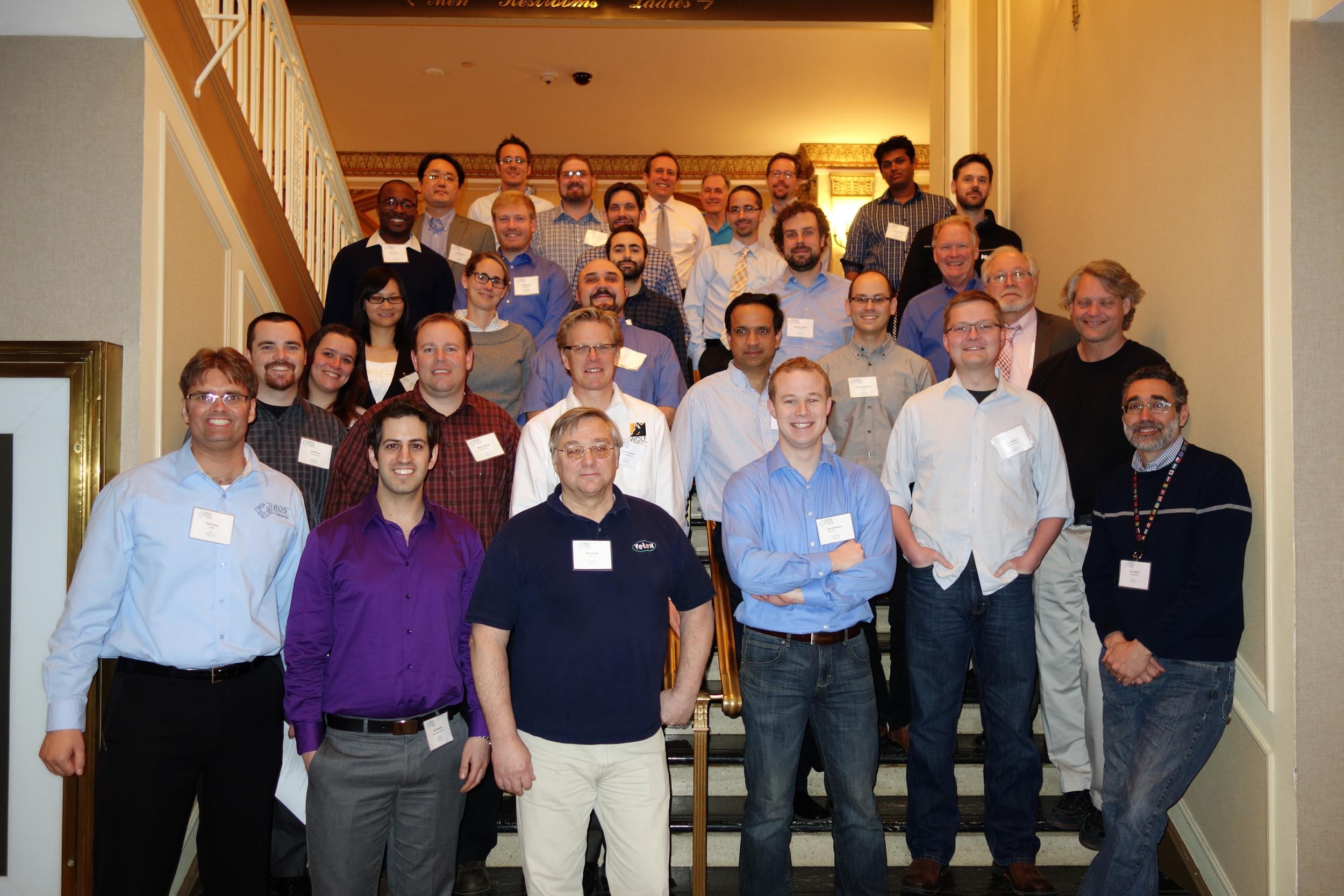 ROS-I Consortium Americas Annual Meeting Attendees - 2015