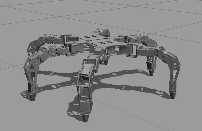phantomx gazebo model