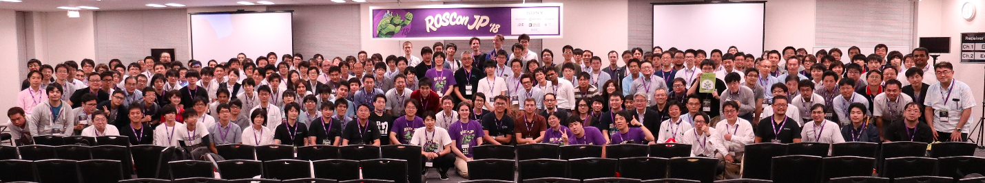 FiG 7. Group photo with the ROSCON Japan committee and participants