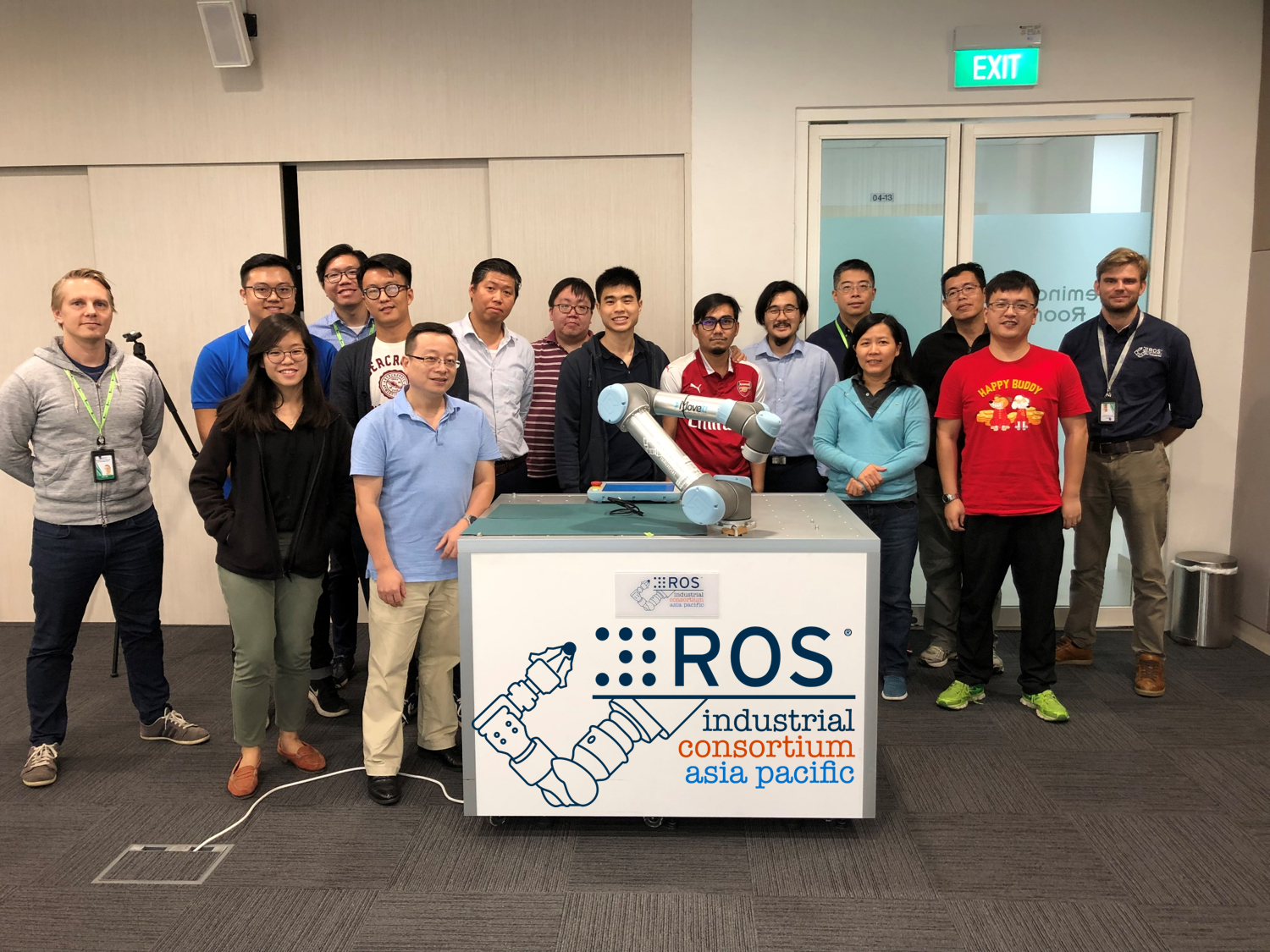 ROS-Industrial Consortium Asia Pacific December 2018 Training - Group Photo