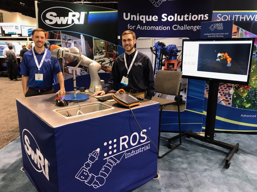 Michael Ripperger & Joseph Schornak on location at Automate 2019