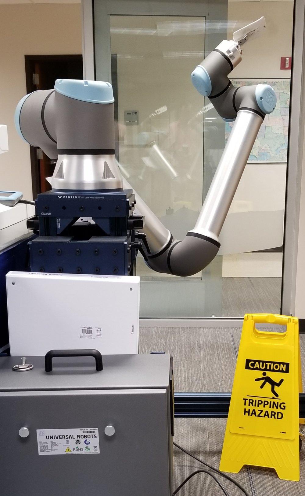 UR10 E-series in the SwRI collaborative lab