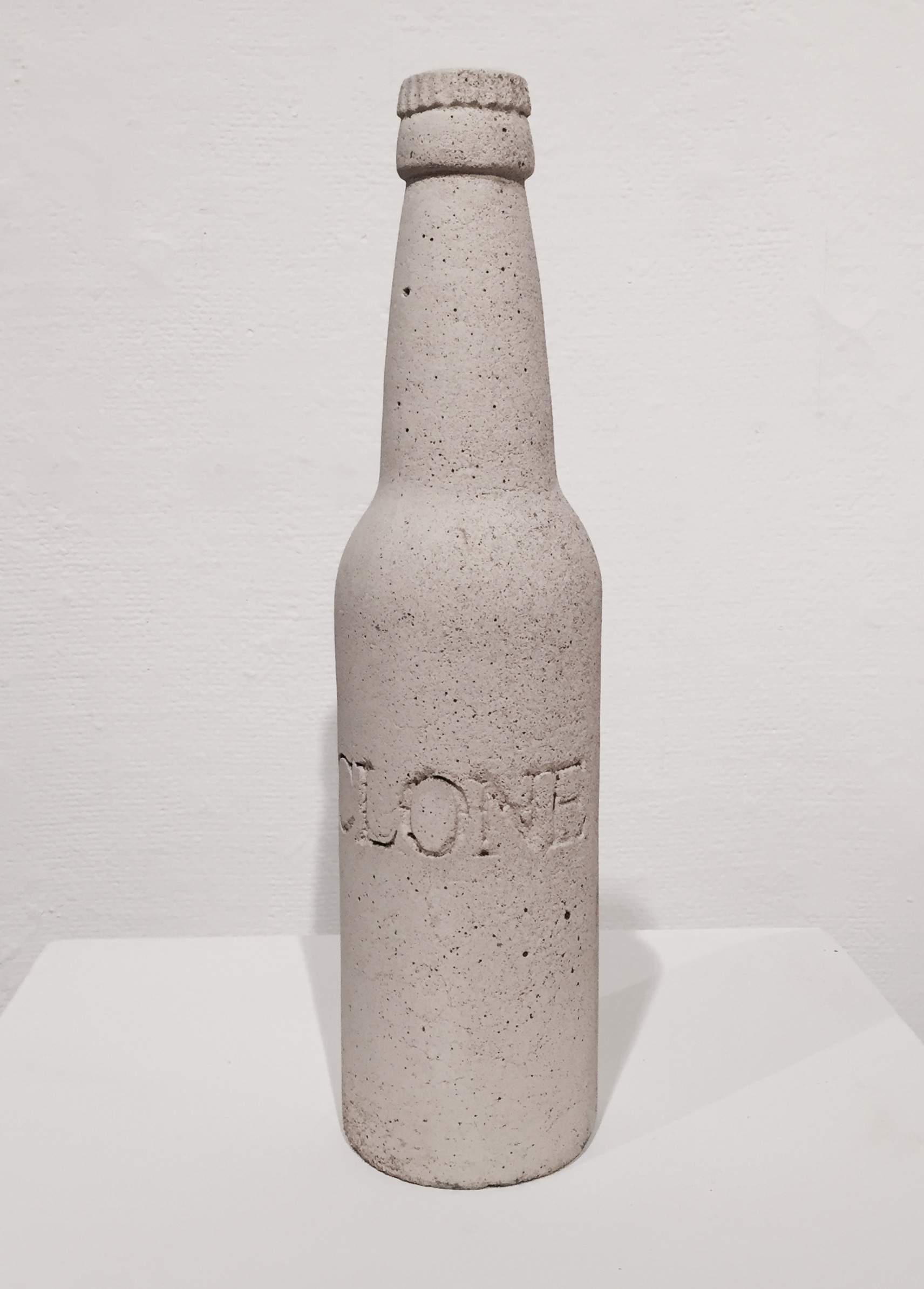 """Randy Hussong   Clone , 2000 (6 available) cast concrete 16"""" x 3"""" x 3"""""""
