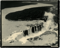 Daniel Ballesteros  Nile Waterfall, Picture of Picture , 2009 silver gelatin print 8.5 x 8""