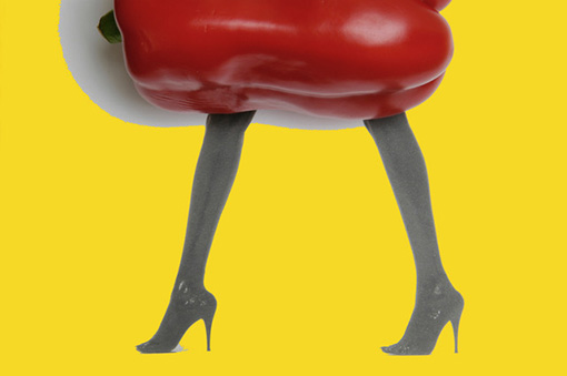 Don Melandry  A Real Pepper with Legs , 2005 archival inkjet print 16 x 20""