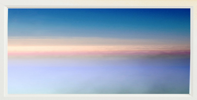 Mel Gross Marine Layer, Sonoma County, 2014 digital chromogenic print on watercolor paper 20 x 14""