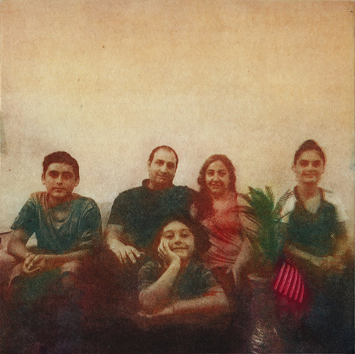 Nancy Willis,  Haider and Layla's family , 2017