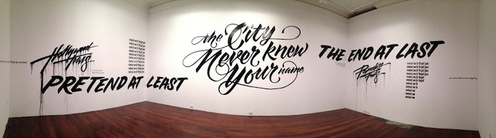 The Art & Artifice of Hand-lettering by New American Paintings