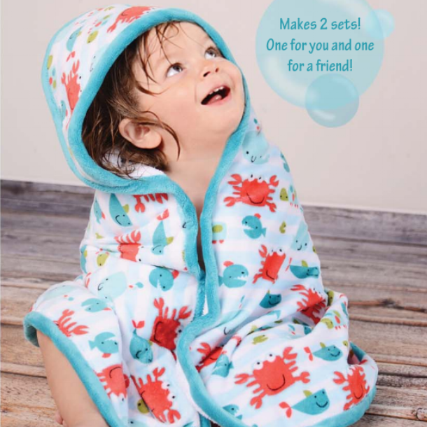 Cuddle Hooded Bath Towel   for baby