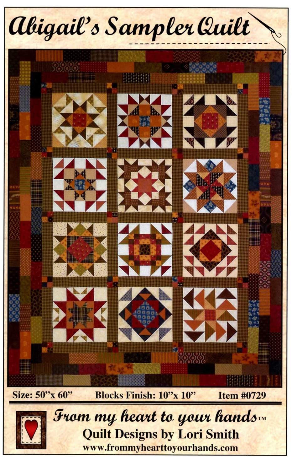Abigail S Sampler Quilt Free Project Patterns Prairie