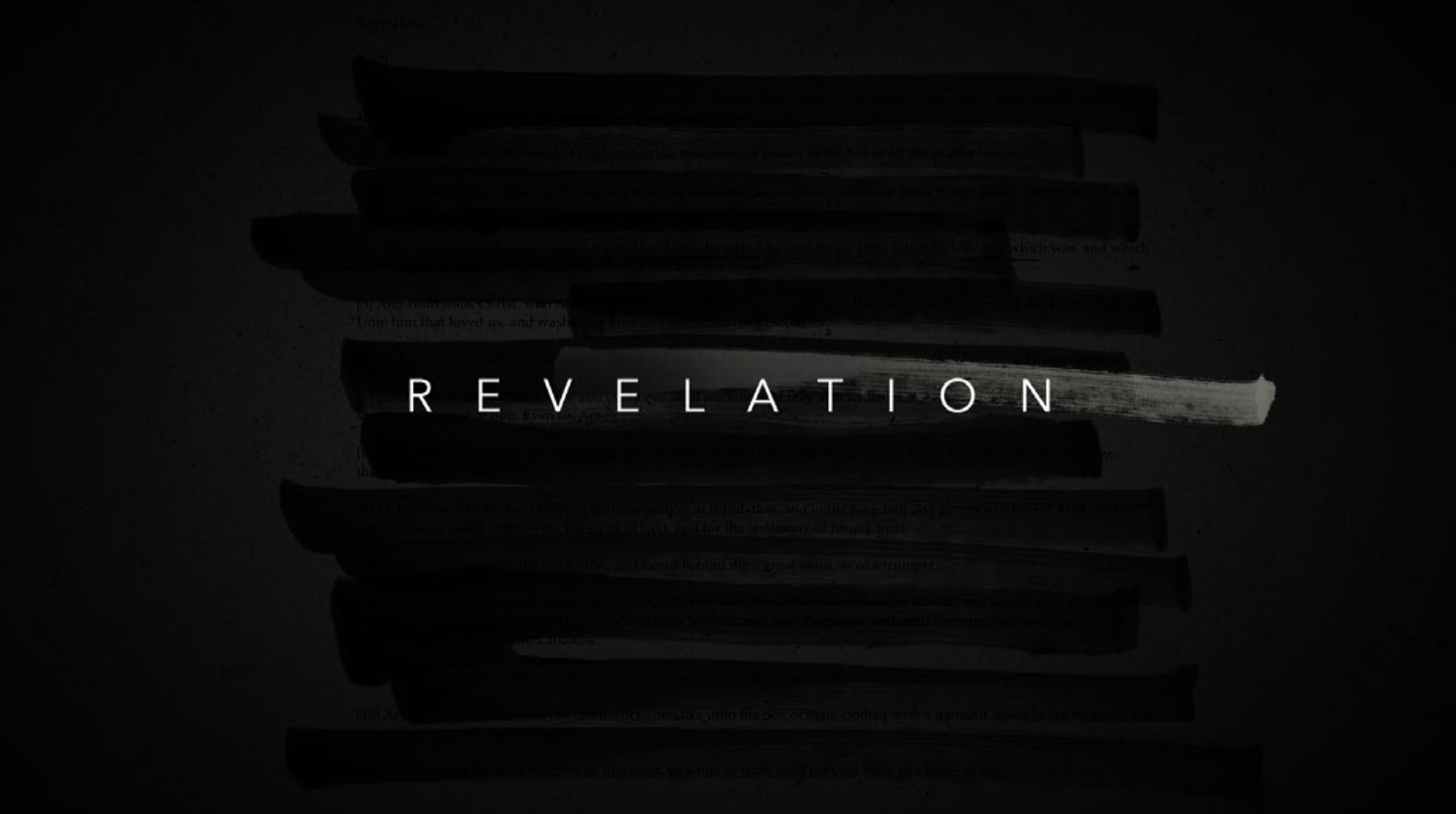REVELATION (2020) - IN PRODUCTION