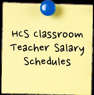 HCS Classroom Teacher Salary Schedules sticky.png